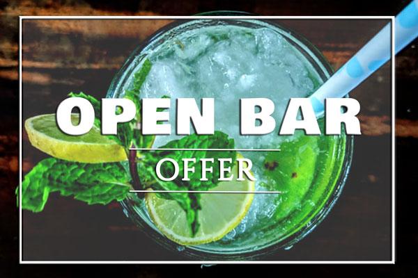 open bar offer